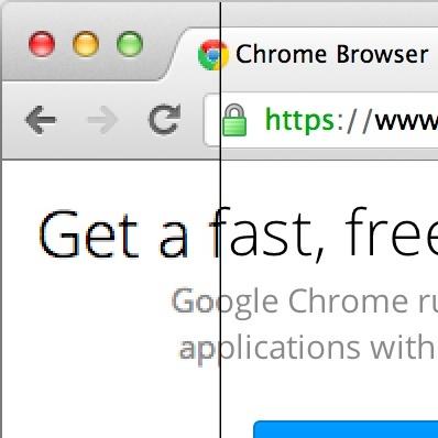 Google promete que tendremos un Chrome adaptado a pantallas retina pronto