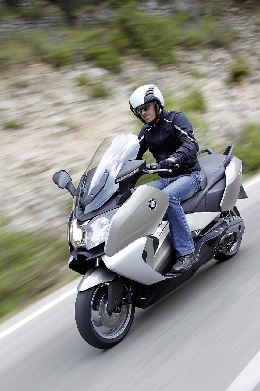 Foto de BMW C 650 GT y BMW C 600 Sport, acción (50/83)