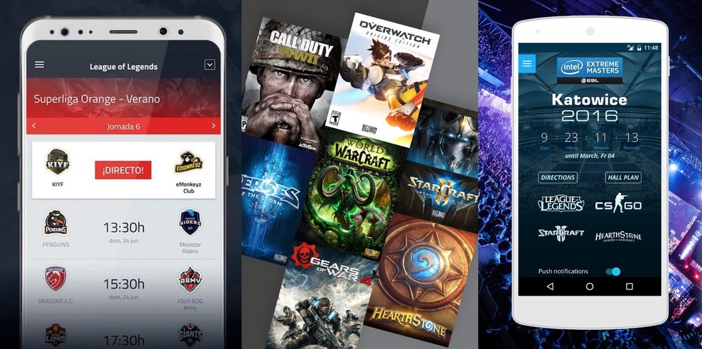Applications Esports Lol Android