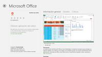 Office 2013 ya está en la Windows Store con enlace a la web y precios definitivos