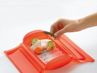 Cocinar al vapor en microondas: sano, fácil y rápido