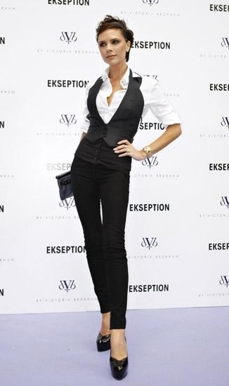 Victoria Beckham vuelve a Madrid a promocionar su línea de jeans