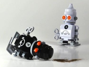 Robots para la sal y la pimienta