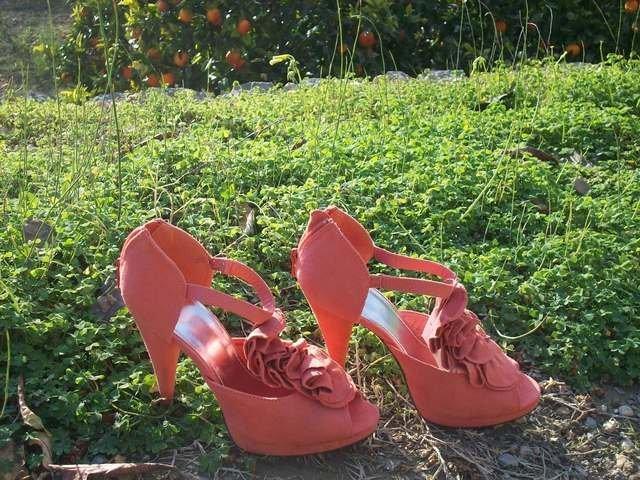 sandalias rosas H&M