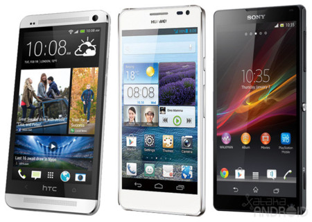 DisplayMate enfrenta las pantallas Full HD del HTC One, Ascend D2 y Xperia Z