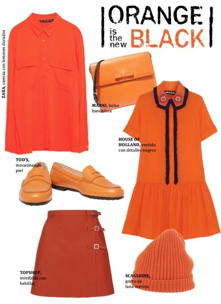 Prendas Color Naranja