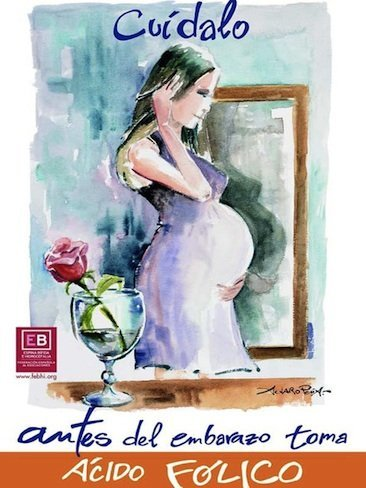 Campaña de prevención de espina bífida en el embarazo