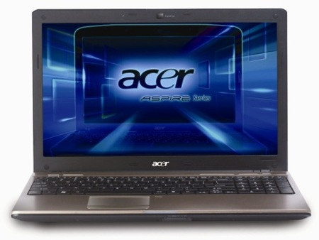 Acer Aspire 5538 funciona con procesador de AMD