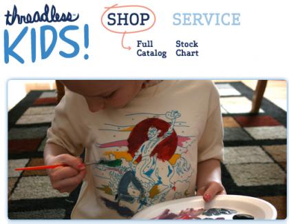 Threadless Kids, tienda de camisetas para niños
