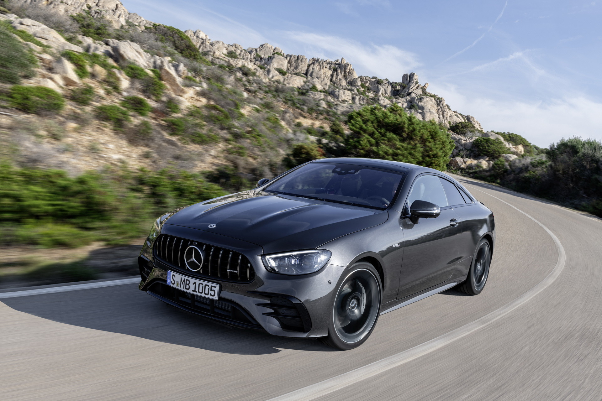 Mercedes-AMG E 53 Coupé 2021