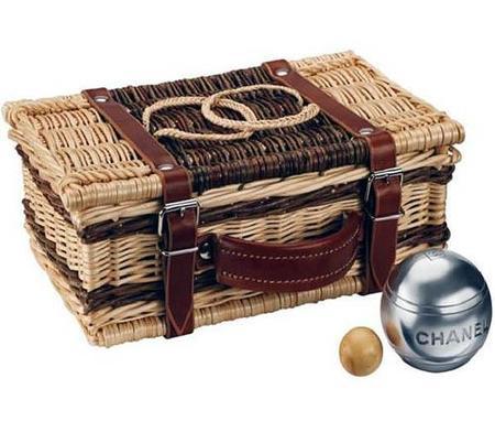 Cesta Chanel de picnic
