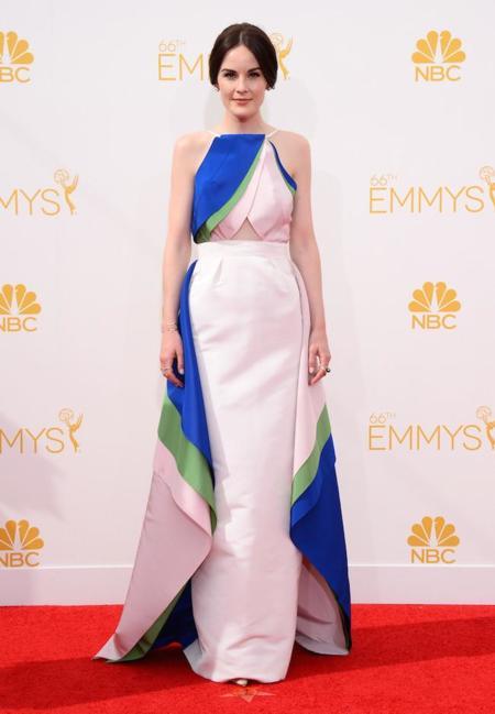 Michelle Dockery, o cómo ir perfecta a los #Emmys2014