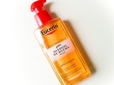 Probamos el Oleo Gel de ducha de Eucerin: pieles secas y sensibles, estáis de enhorabuena