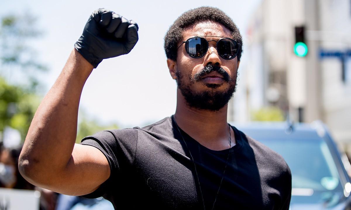 Michael B. Jordan black lives matter