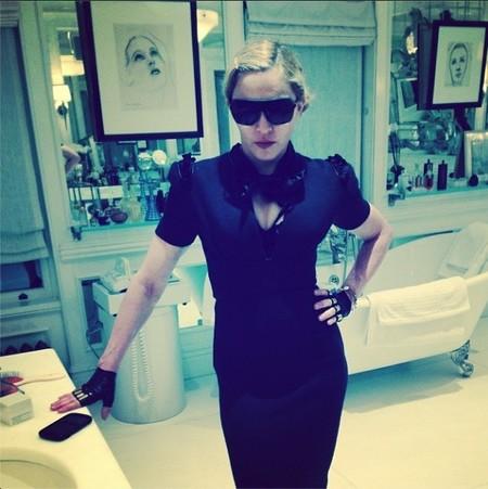 Madonna, en el cine mejor dejamos el whatsapp, reina