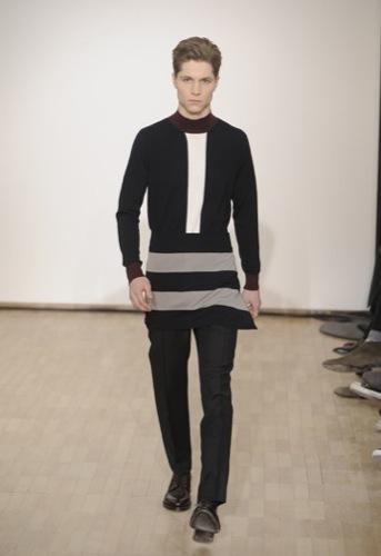 Raf Simons, Otoño-Invierno 2010/2011 en la Semana de la Moda de París. Geometría
