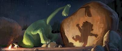En noviembre de 2015 llega la película de Disney Pixar The Good Dinosaur (el buen dinosaurio)