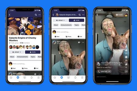 Los Reels llegarán a Facebook para competir con TikTok por partida doble