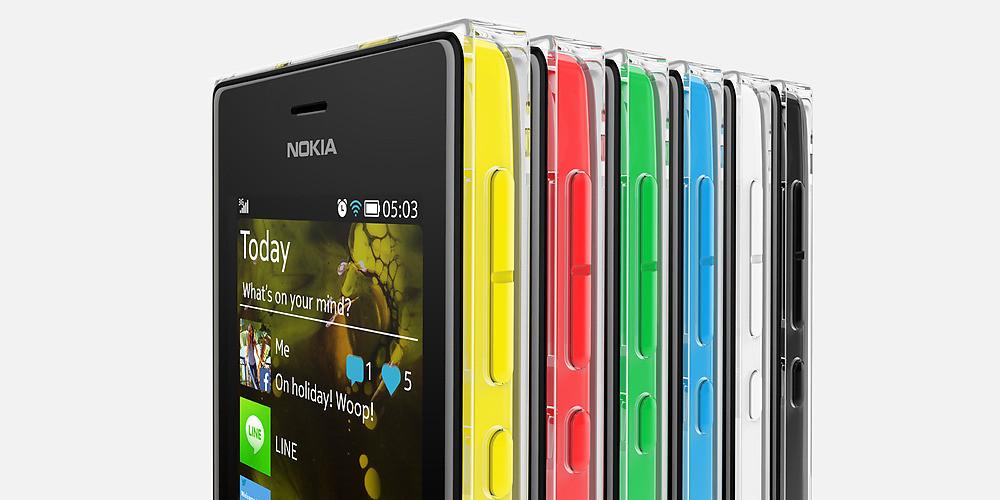 Detalles del acabado Crystal Clear con Nokia Asha 503