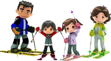 'Family Ski' para Wii aterrizará en Europa el próximo 13 de junio