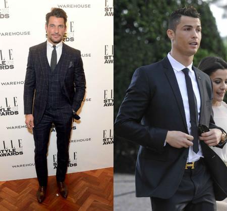 ¿Por qué Cristiano Ronaldo no es un icono de estilo y David Gandy sí? Se parecen más de lo que crees