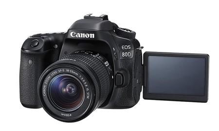 Canon Eos 80D, por 978,89 euros en eBay