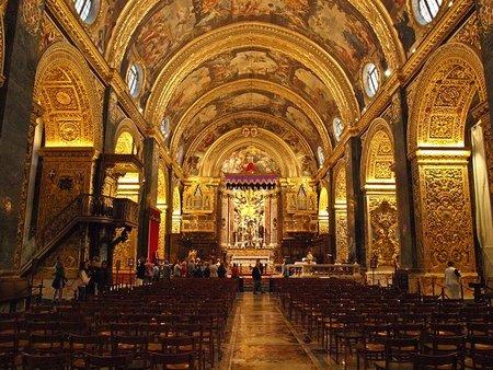 La Concatedral de San Juan, en La Valletta