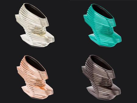 """El zapato """"Nova"""" diseñado por Zaha Hadid y United Nude"""