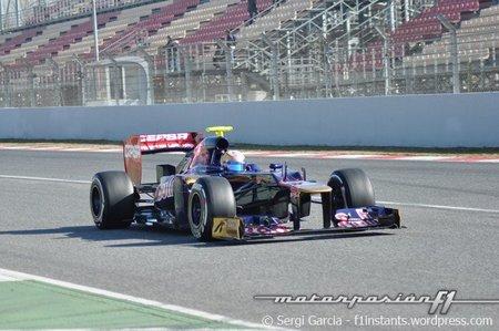 Jean-Eric Vergne sorprende en la segunda mañana de las últimas pruebas en Barcelona