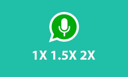 Notas de voz a tres velocidades en WhatsApp, una filtración nos muestra cómo será su interfaz