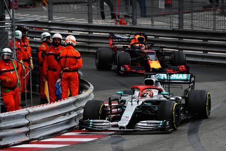 Hamilton Monaco F1 2019 4