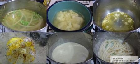 Bucatini Salsa Coliflor