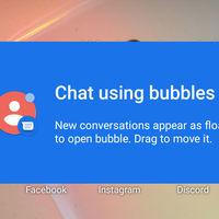 Mensajes de Google estrena las burbujas de chat de Android 11 Beta