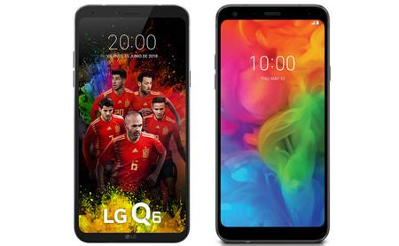 Del LG Q6 al LG Q7: esto es todo lo que ha cambiado en un año