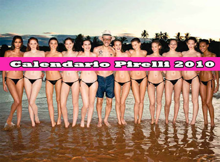 Las supermodelos se desnudan en el calendario Pirelli