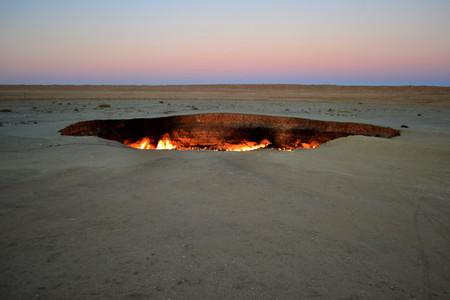 gas crater día