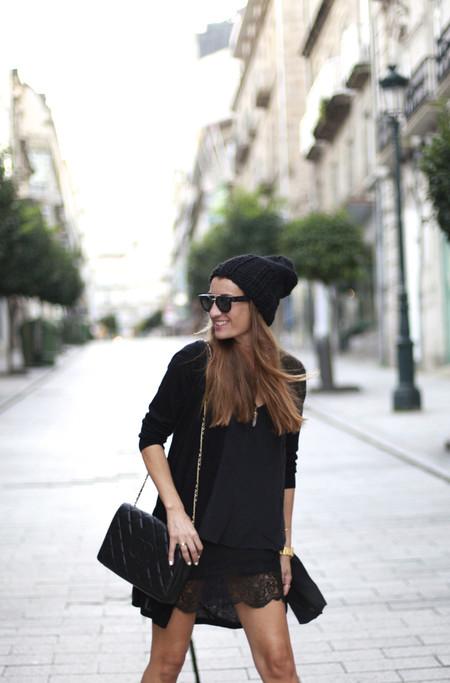 Vestido Lencero Negro 22