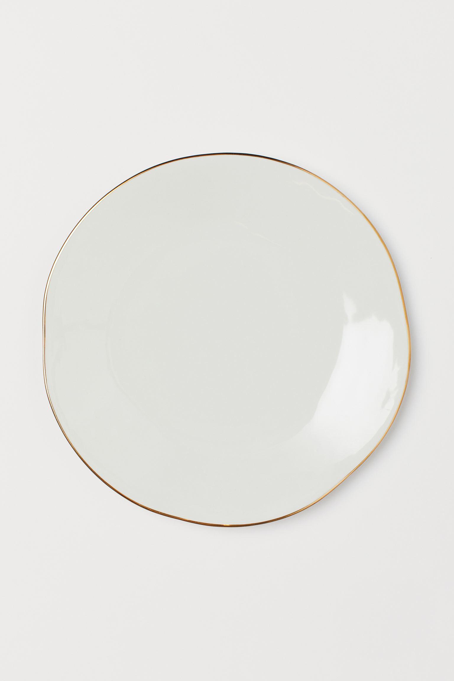 Plato de cerámica vidriada