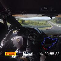 La vuelta récord del Lamborghini Aventador SVJ en Nürburgring, ahora en vídeo: ¡6:44.97!