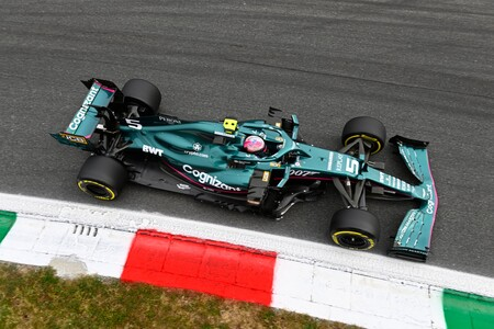Vettel Italy F1 2021 4
