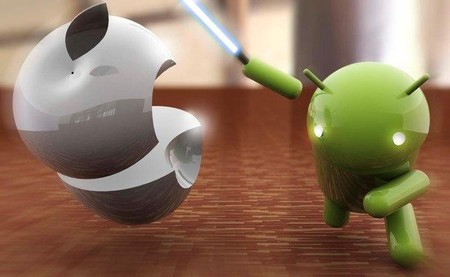 Android tiene la cuota del mercado, iOS las ganancias