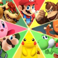 Si tienes 8 Amiibo un glitch te permite controlar simultáneamente a 8 personajes de Super Smash Bros.