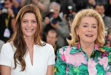 Catherine Deneuve y su hija, Chiara Mastroianni, en Cannes