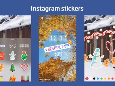 Instagram Stories se actualiza y ahora nos permite añadir stickers