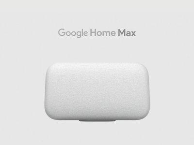 """Google Home Max, un potente altavoz """"inteligente"""" centrado en la música y potenciado por Assistant"""