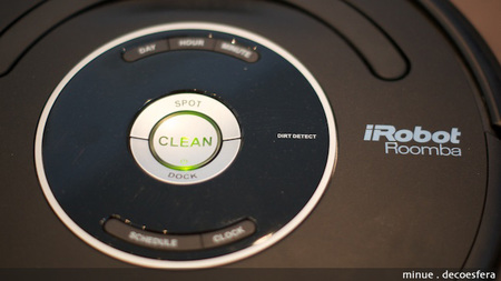 Comparativa neato Roomba - potencia