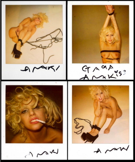 Araki Gaga Polaroid