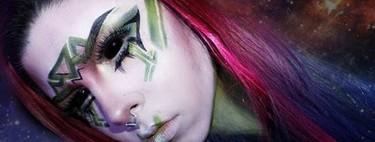 Hay gente haciendo verdaderas obras de arte en la cara de las personas