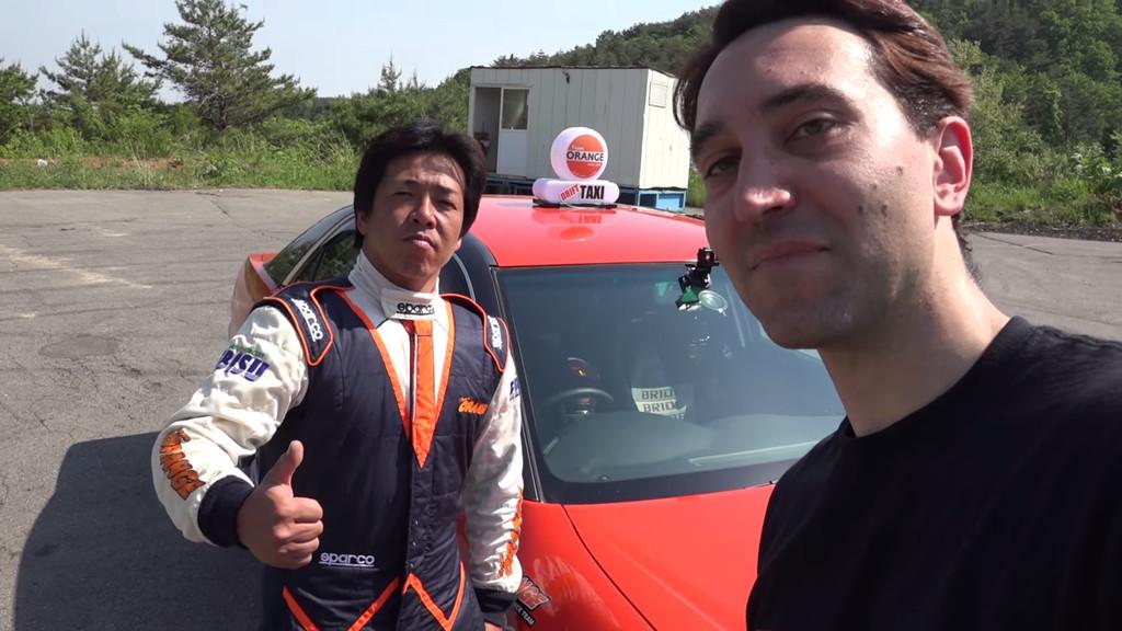 Drifting Taxi Japon