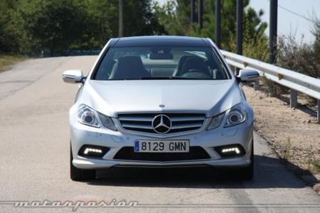 Mercedes-Benz E Coupé 350 CDI, prueba (parte 2)